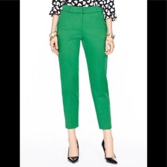 kate spade Pants - COPY - Kate Spade Kelly Green Margaux Pants